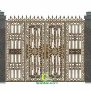 Cổng nhôm đúc B-11